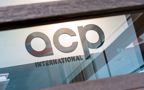 ACP International Logo Dronten