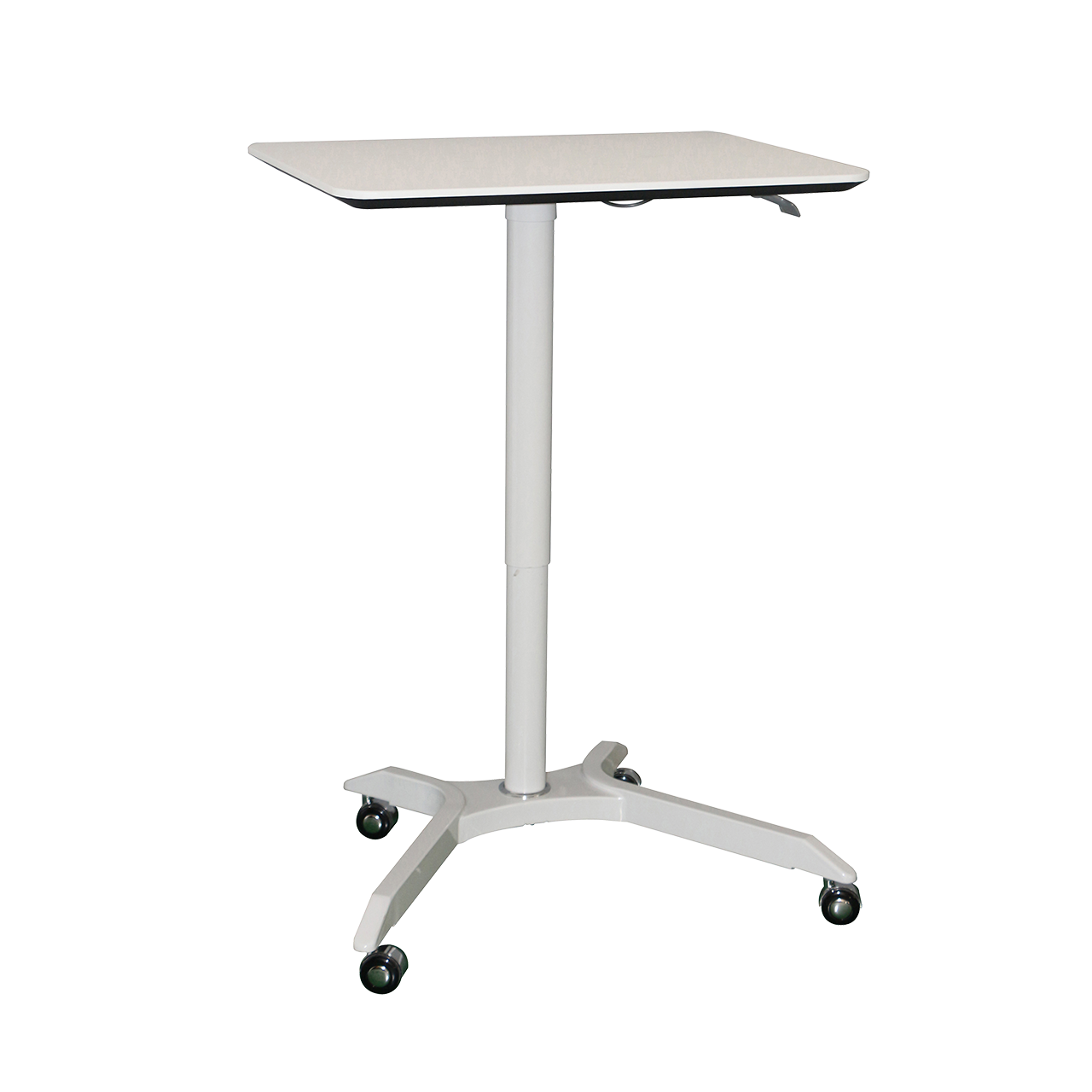 LS_LT Gas Lift Height Adjustable Laptop Table Tall